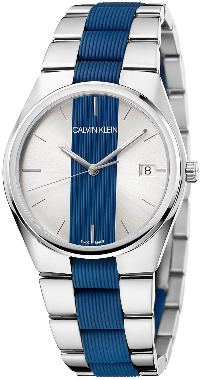 Calvin Klein Contrast Quartz Mens Watch K9E211VX