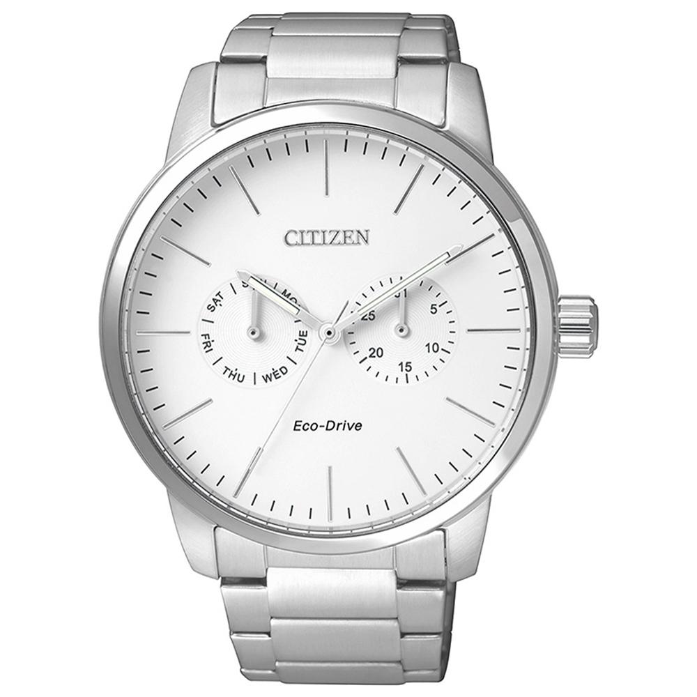 Citizen Eco-Drive Men Day Date Watch AO9040-52A